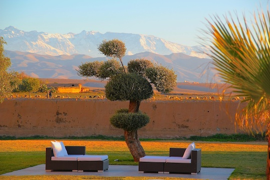 location villa marrakech- Taj Omayma