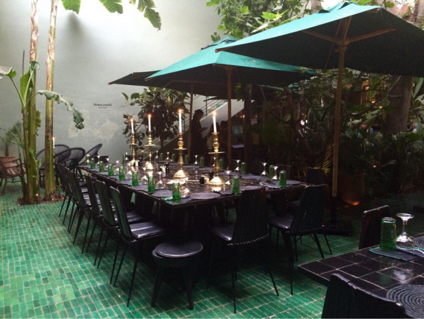 Le jardin restaurant medina marrakech for Restaurant le jardin mazargues
